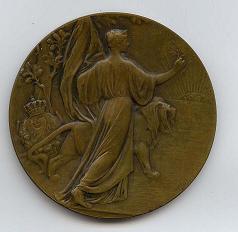 Belgische Penning 1830-1905 - Achterkant