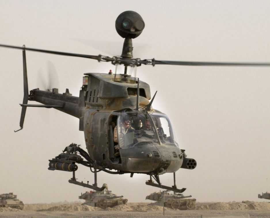 Bell OH-58D Kiowa Warrior