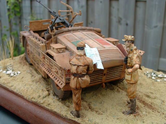 Camionetta Sahariana AS 42 modelbouw