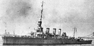 De HMS Chester