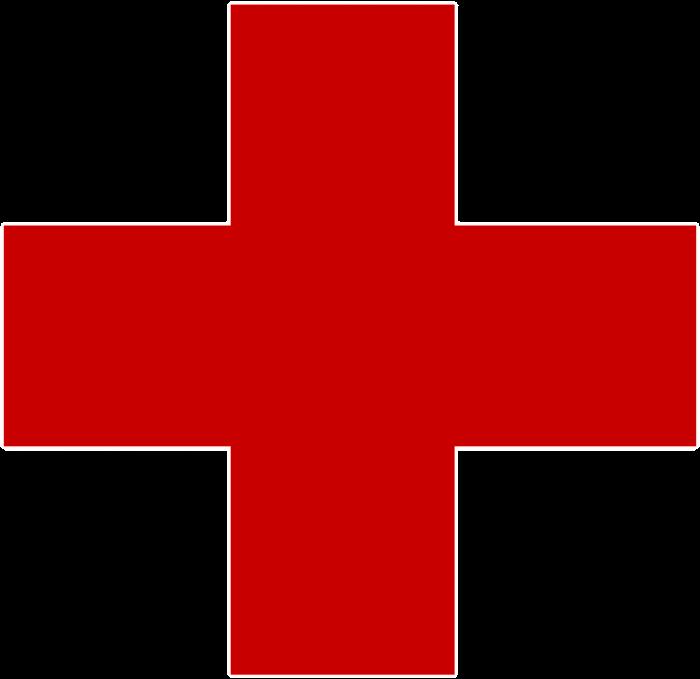 Het rode kruis logo