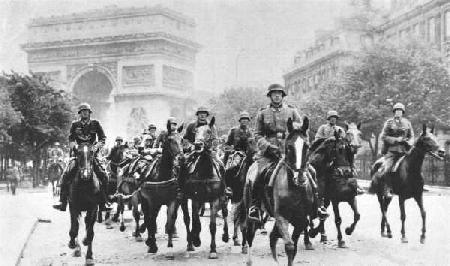 Inval in Parijs - 1940