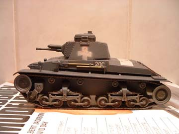 Dit model is een CMK model schaal 1:35, en deze is door Eric de Graaf gebouwd.
