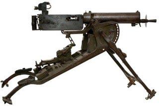 De Maschinengewehr 08 - mg08 (62,4 kg)
