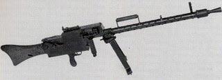 De Maschinengewehr LMG 08/18 - 15 kg