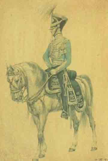 Nederlandse officier in 1825