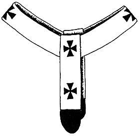 Pallium halslint van Paus Leo IX