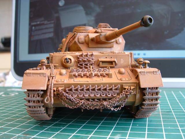 Panzerkampfwagen IV ausf F/2 modelbouw door Eric de Graaf