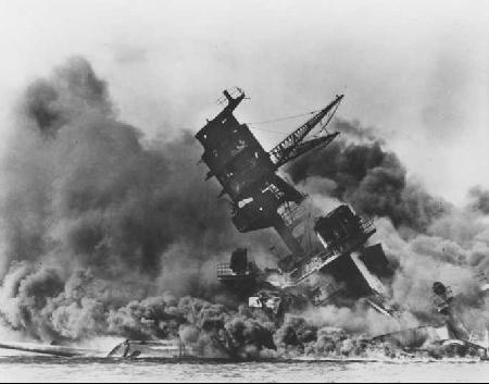 Slag bij Pearl Harbor in de tweede wereldoorlog