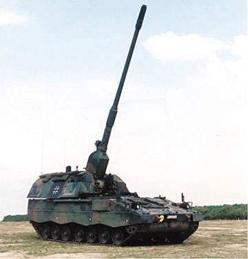 PZH 2000 Artillerie