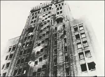De toren in Antwerpen - 1944
